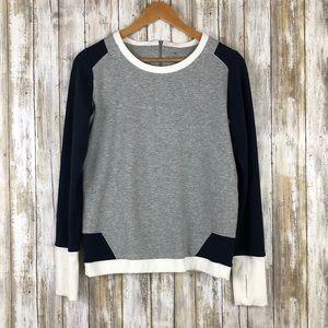 Athleta Color Block Pullover Sweater Small